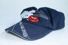 Disney Little Boys Cars Lightning McQueen Character Cotton Baseball Cap Size XS
