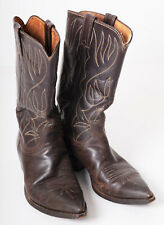 Vintage Western Boots. Justin Texas. Size 8D 1940s