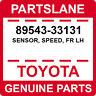 89543-33131 Toyota OEM Genuine SENSOR, SPEED, FR LH