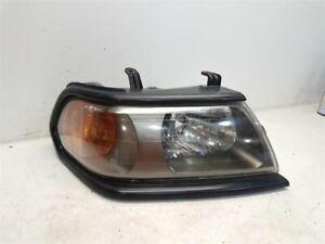 2000-01 Mitsubishi Montero Sport Passenger Right Headlight - Black Bezel SCRATCH