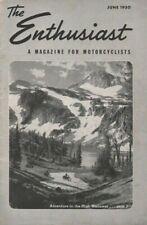 1950 June The Enthusiast Harley-Davidson Magazine - Oregon High Wallowas