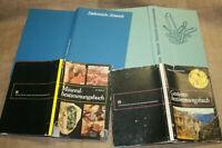 4 Sammlerbücher Minerale Mineralogie Geologie Sammlerkunde Kristalle Mineralien