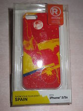iPhone 5 & 5s Snap-On Case / Cover World Cup Soccer Team Spain By Radioshack