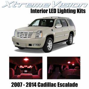 XtremeVision Interior LED for Cadillac Escalade 2007-2014 (16 PCS) Red