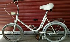 Vintage Folding Bicycle Complete w/Light Very Rare1972 Olympics Made by JC Penny