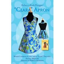 CLARA APRON SEWING PATTERN, from Rebecca Ruth Designs, *NEW*