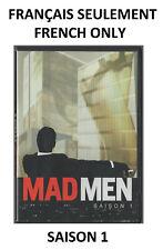 SAISON 1 Mad Men (DVD Français seulement) Les dessous d'une agence de publicité