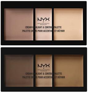 NYX Cream Highlight & Contour Palette . CHCP . NEW