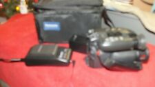 Panasonic Palmcorder IQ PV-IQ305 Video Camera 12X Optical Zoom with Batteries