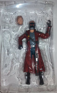 "MARVEL LEGENDS GROOT WAVE GUARDIANS OF THE GALAXY STAR LORD 6"" LOOSE NO BAF"