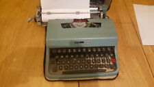 Vintage OLIVETTI Lettera 32 Portable Typewriter,1950's, Excellent Condition