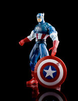 Marvel vs Capcom Captain America Super Heroes ToyBiz Figure X-Men  Avengers 1999