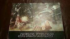 Vintage STAR WARS MOVIE PROGRAM NEAR MINT SECOND PRINTING RARE 1977 -