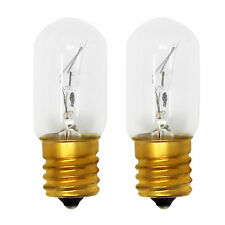 2-Pack Light Bulb for Whirlpool 8206232A, Mh1170Xsb0, Mh1160Xsb0, Mh1170Xsy0