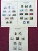 WEST GERMANY 1981: 3 album pages 37 stamps MNH**