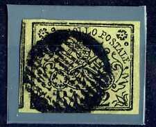 PAPAL - STATO PONTIFICIO - 1852 - Due baj - Stemma pontificio -