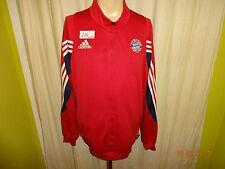 FC Bayern Münc Original Adidas Freizeit- Trainingsanzug Jacke 2003/04 Gr.XL TOP