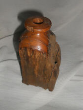 VTG Hand crafted Vase by Walnut Hill  from Recycled Chestnut Split Rail Fence
