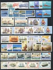 Ships and boats #2 mnh vf sets and sheets  on two stockpages