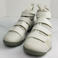 Nike Air Lebron Soldier XI TB Mens Sneakers Ivory White 897646-005 Size 12.5