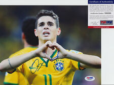 Oscar Brazil Brasil Chelsea Signed Autograph 8X10 Photo Psa/Dna Coa #X68285