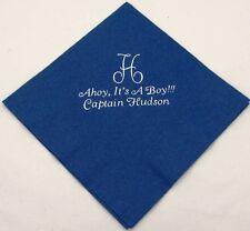 250 Personalized birthday napkins custom custom printed luncheon napkins