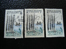 NOUVELLE CALEDONIE timbre yt n° 284 x3 obl (A4) stamp new caledonia (Y)
