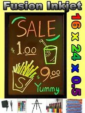 16 x 24 LED WRITING BOARD menu Flashing Fluorescent sign neon 8 pens message