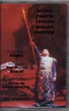 "OPERA PACIFIC ""1993/ 94 SEASON PREVIEW"" CASSETTE faust the merry widow sealed"