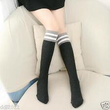 Lovely Kids Girls Toddlers Cute Pattern Knee High Cotton Socks for 3-7 child