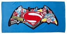 Batman VS Superman Movie Beach Bath Towel Dawn of Justice Clash Design Boys Kids
