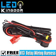 1x Xenon HID Conversion Headlights Relay Wire Harness H13 9008