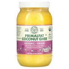 Organic & Virgin PrimalFat Coconut Ghee, 15 oz (425 g)
