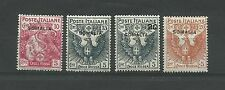 1916 COLONIE SOMALIA CROCE ROSSA 4 VALORI MLH*
