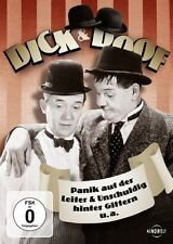 DICK & DOOF: PANIK AUF DER LEITER u.a. (Stan Laurel, Oliver Hardy) NEU+OVP