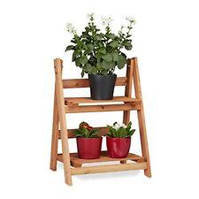 Relaxdays Escalier pour Plantes bois Échelle Plante Support Intérieur HxLxP ...