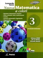 nuova Matematica a colori 3 edizione Verde, PETRINI SCUOLA cod:9788849417296