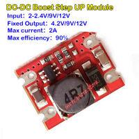 2A Boost Step Up Voltage Converter DC-DC 4.2V 5V 9V 12V Mini Power Supply Module