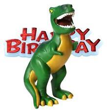 Resina dinosaurio Feliz Cumpleaños Cake Topper Decoración