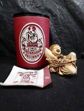 """Lord Byron Harmony Circus """" Great Escapo """" Escape Artist Statue In Box"""