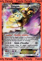 Exagide Ex 170pv 65/119 XY Vigueur Spectrale carte pokémon Ultra Rare neuve fr