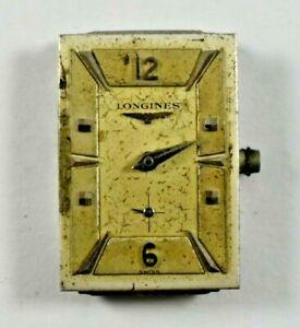 Vintage Longines Manual Wind 17J 9LT Wrist Watch Movement lot.b