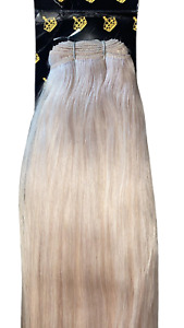 MONGOLIAN DOUBLE DRAWN 20'' 150g WEFT HUMAN HAIR EXTENSIONS SHADE #60A