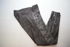 Under Armour Leggings HeatGear Compression Yoga Capri Pants Womens Size Large