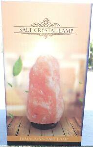 USB NATURAL HIMALAYAN PINK IONIZING HOLISTIC ROCK SALT LAMP WITH CHANGING COLOUR
