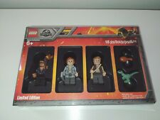 LEGO JURASSIC WORLD 5005255 LIMITED EDITION MINIFIGURE BOX NUEVO A ESTRENAR