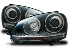 black color Headlights with Xenon looks FOR VW Golf V 5 VW Jetta III GTI Look