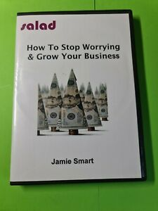 How to Stop Worrying & Grow Your Business NLP- Jamie Smart SALAD- 4 CD Set