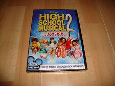 HIGH SCHOOL MUSICAL 2 EDICION EXTENDIDA DE WALT DISNEY EN DVD NUEVA PRECINTADA
