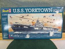 REVELL. USS Yorktown (CV5). 1:1200.   05800